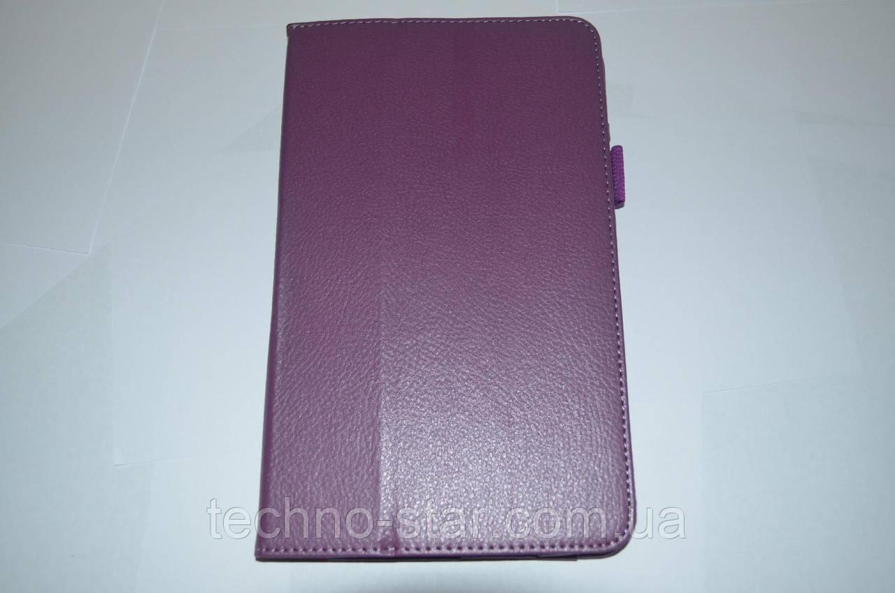 Чехол-книжка для Dell Venue 8 pro (фиолетовый цвет)
