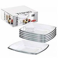 Набор тарелок Pasabahce Tokio 195 мм 6 шт 54077