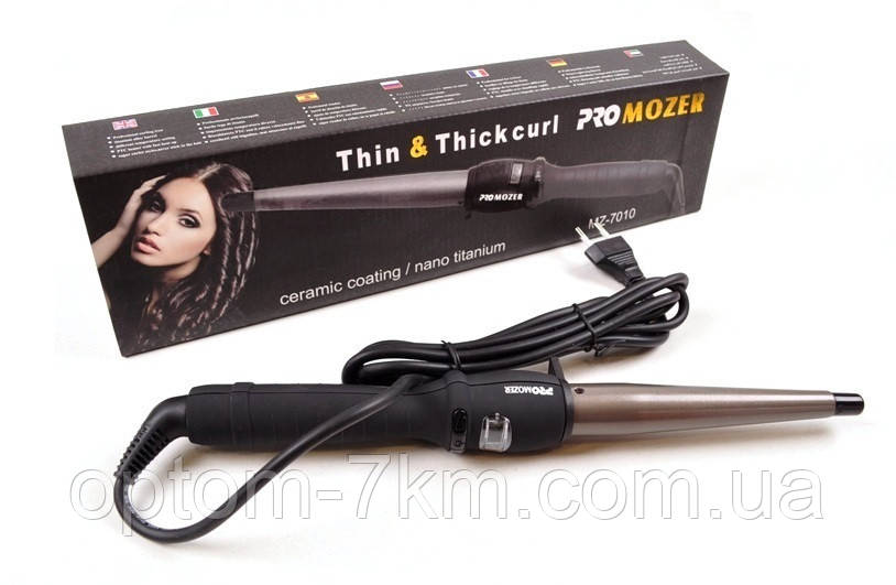 Конусная Плойка для Волос Pro Mozer MZ 7010 B am