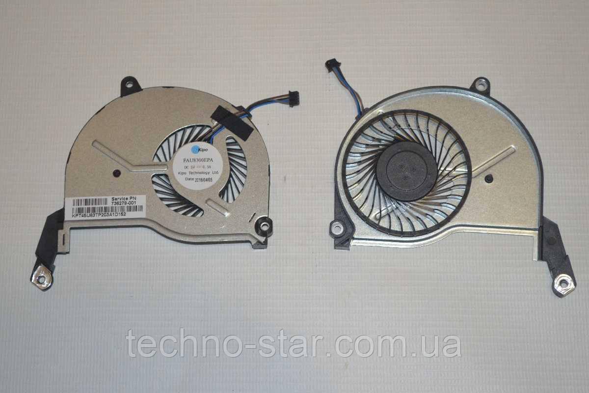 Вентилятор /кулер FAU8300EPA DFS531105MC0T HP Pavilion 14-N 15-N 17-N TPN-Q129 TPN-Q130 TPN-Q131 TPN-Q132 CPU