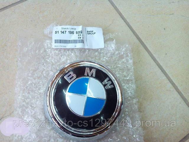 Эмблема на крышку багажника BMW X6
