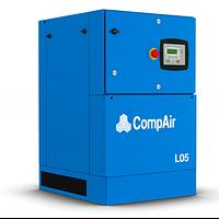 Винтовой маслозаполненный компрессор CompAir L05-10 5кВт