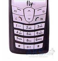 Клавиатура (кнопки) Fly S688/788 Silver