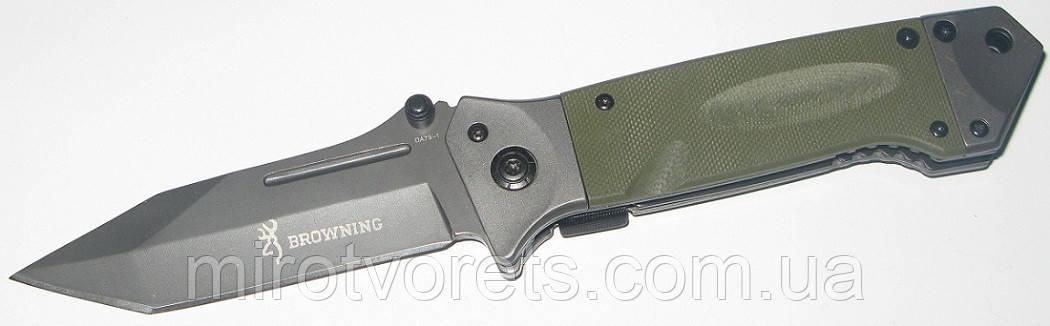 Нож полуавтомат Browning Tanto
