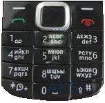 Клавиатура (кнопки) Nokia 1616 Black