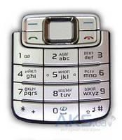Клавиатура (кнопки) Nokia 3109 Silver