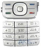 Клавиатура (кнопки) Nokia 5300 Silver