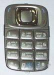 Клавиатура (кнопки) Nokia 6085 Silver