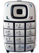 Клавиатура (кнопки) Nokia 6101 Silver/Black