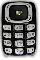 Клавиатура (кнопки) Nokia 6103 Black/Silver