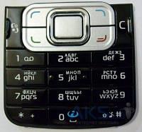 Клавиатура (кнопки) Nokia 6120 Black