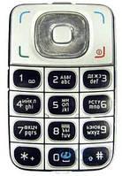 Клавиатура (кнопки) Nokia 6125 Silver