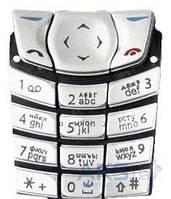 Клавиатура (кнопки) Nokia 6610 Silver