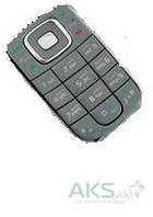 Клавиатура (кнопки) Nokia 6267 Silver