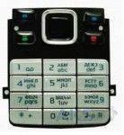 Клавиатура (кнопки) Nokia 6300 Silver