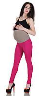 Розовые леггинсы для беременных на лето