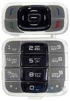 Клавиатура (кнопки) Nokia 7200 Black