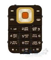 Клавиатура (кнопки) Nokia 7370/7373 Black