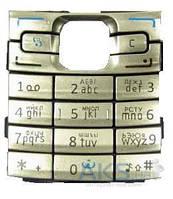 Клавиатура Nokia E50 Silver