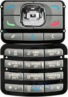 Клавиатура (кнопки) Nokia N71 Silver