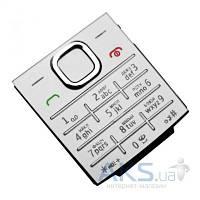 Клавиатура (кнопки) Nokia X2-00 Silver