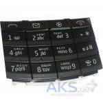 Клавиатура (кнопки) Nokia X3-02 Black