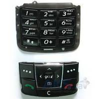 Клавиатура (кнопки) Samsung E250 Black