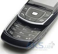 Клавиатура (кнопки) Samsung E830 нижняя Black