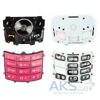 Клавиатура (кнопки) Samsung J700 Pink