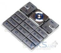Клавиатура (кнопки) Sony Ericsson K610i Silver