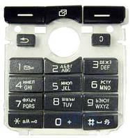 Клавиатура (кнопки) Sony Ericsson K750i Black