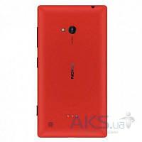 Задняя часть корпуса (крышка аккумулятора) Nokia Lumia 720 с боковыми кнопками, антенной, разъемом гарнитуры Original Red