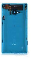Задняя часть корпуса (крышка аккумулятора) Nokia Lumia 720 с боковыми кнопками, антенной, разъемом гарнитуры Original Blue
