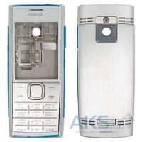 Корпус Nokia X2-00 с клавиатурой Silver