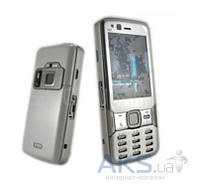 Корпус Nokia N82 Silver