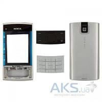 Корпус Nokia X3-00 с клавиатурой Silver
