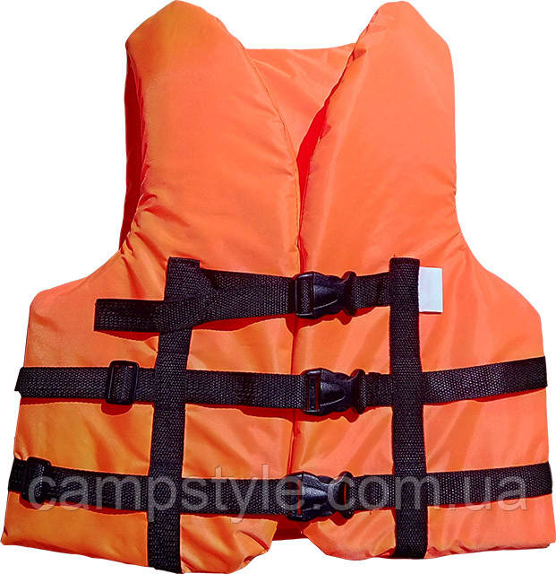 Страховочный жилет 90-110 кг оранжевый