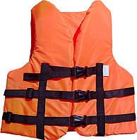 Детский страховочный жилет 40-50 кг оранжевый
