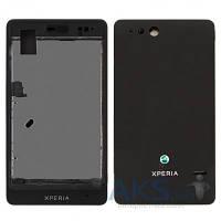 Корпус Sony ST27i Xperia Go Black