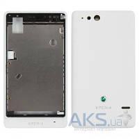 Корпус Sony ST27i Xperia Go White