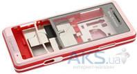 Корпус Sony Ericsson C510 White/Red