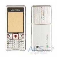 Корпус Sony Ericsson C510 с клавиатурой Silver