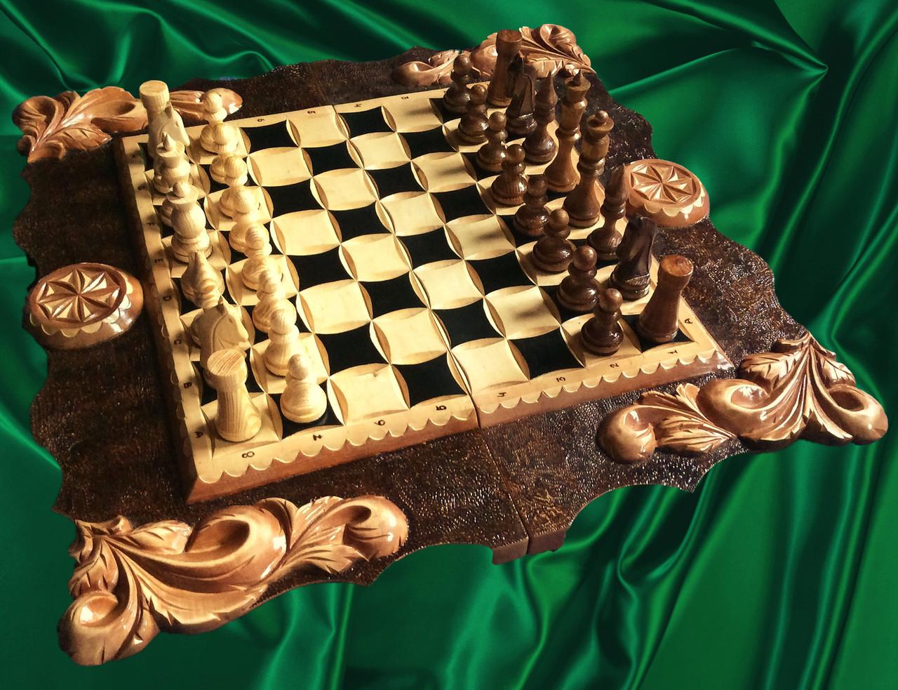 Шахматы, шашки , нарды , резные