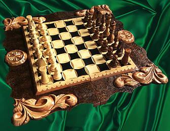 Шахматы, шашки , нарды , резные, фото 2