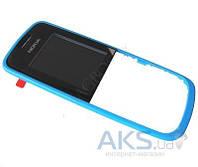 Передняя панель корпуса (рамка дисплея) Nokia 109 Blue