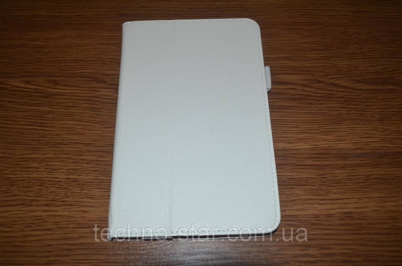 Чехол-книжка для Dell Venue 7 (белый цвет)