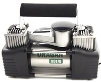 Автокомпресор URAGAN 90170, 2х поршневий, 10Amp/85л.