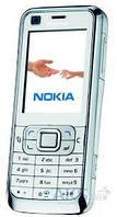 Передняя панель корпуса (рамка дисплея) Nokia 6120c silver