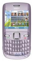 Передняя панель корпуса (рамка дисплея) Nokia C3-00 Purple