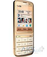 Передняя панель корпуса (рамка дисплея) Nokia C3-01 Gold